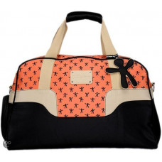 LITTLE COMPANY - LCT Twist Travel Bag - Oranje