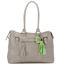 LITTLE COMPANY - Black Label - Soft Leather luiertas / verzorgingstas - Taupe