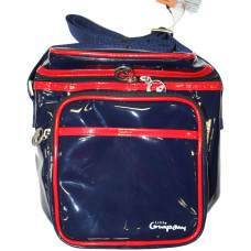 LITTLE COMPANY - cool bag - blauw /rood