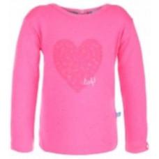 LIEF! - Shirt - lange mouw - roze - maat 104