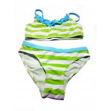 KNOT SO BAD - bikini limegroen - maat 104