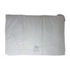 ANEL - bedomrander groot - Slaapbeer - Wit - 240*60 / 90*60