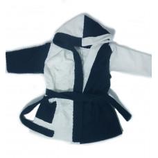 ANEL - badjas - Disney badjas - zwart/wit - 86/92