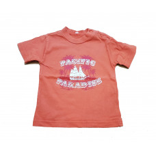 DIVERSEN: 3 longsleeves - 1 T-Shirt - maat 68 - Jongens