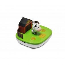 BABYZOO - Slaaptrainer - Boerderij met koe - Nachtlampje met muziek of verhaaltjes - MP3 player