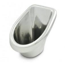 JAHGOO - Plaspot - Urinoir voor jongens - Zilver - Kunststof