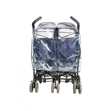 ISI MINI - Regenhoes - Duo Buggy - transparant