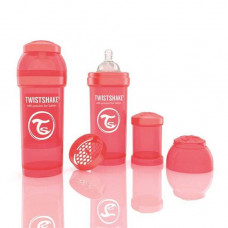 TWISTSHAKE - Babyfles antikoliek - 260 ml - perzik