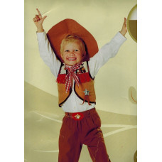 DREAMLAND - Cowboy - maat 146 - 4 delig