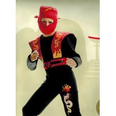 DREAMLAND - Ninja Rood - maat 110 - 3 delig