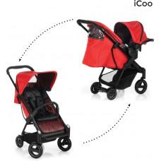 ICOO - Acrobat Shop'n Drive - Kinderwagen - Fishbone Red