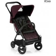 ICOO - Acrobat - Kinderwagen - Fishbone Bordeaux
