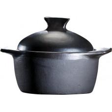DE LA TERRA - Kookpan Rond incl. Deksel - 18 cm (3 L)