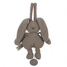 NATTOU - Mini Grey Rabbit Musical Lapidou