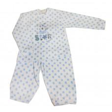ISI MINI - Teddy - Setje - Blauw / Wit - I'm a little star - 62/68
