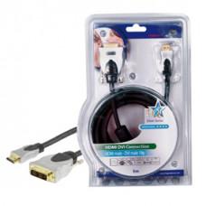 HQ - HDMI naar DVI kabel - 5m - zwart