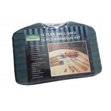 GARDEN - 16 delige barbeque set
