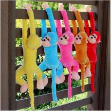 Cute Monkey Soft Toys Animal Doll Baby Kids Children Birthday Gift - Blauw