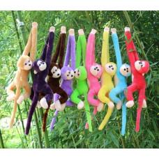 Cute Monkey Soft Toys Animal Doll Baby Kids Children Birthday Gift - Roze