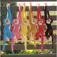 Cute Monkey Soft Toys Animal Doll Baby Kids Children Birthday Gift - Bruin